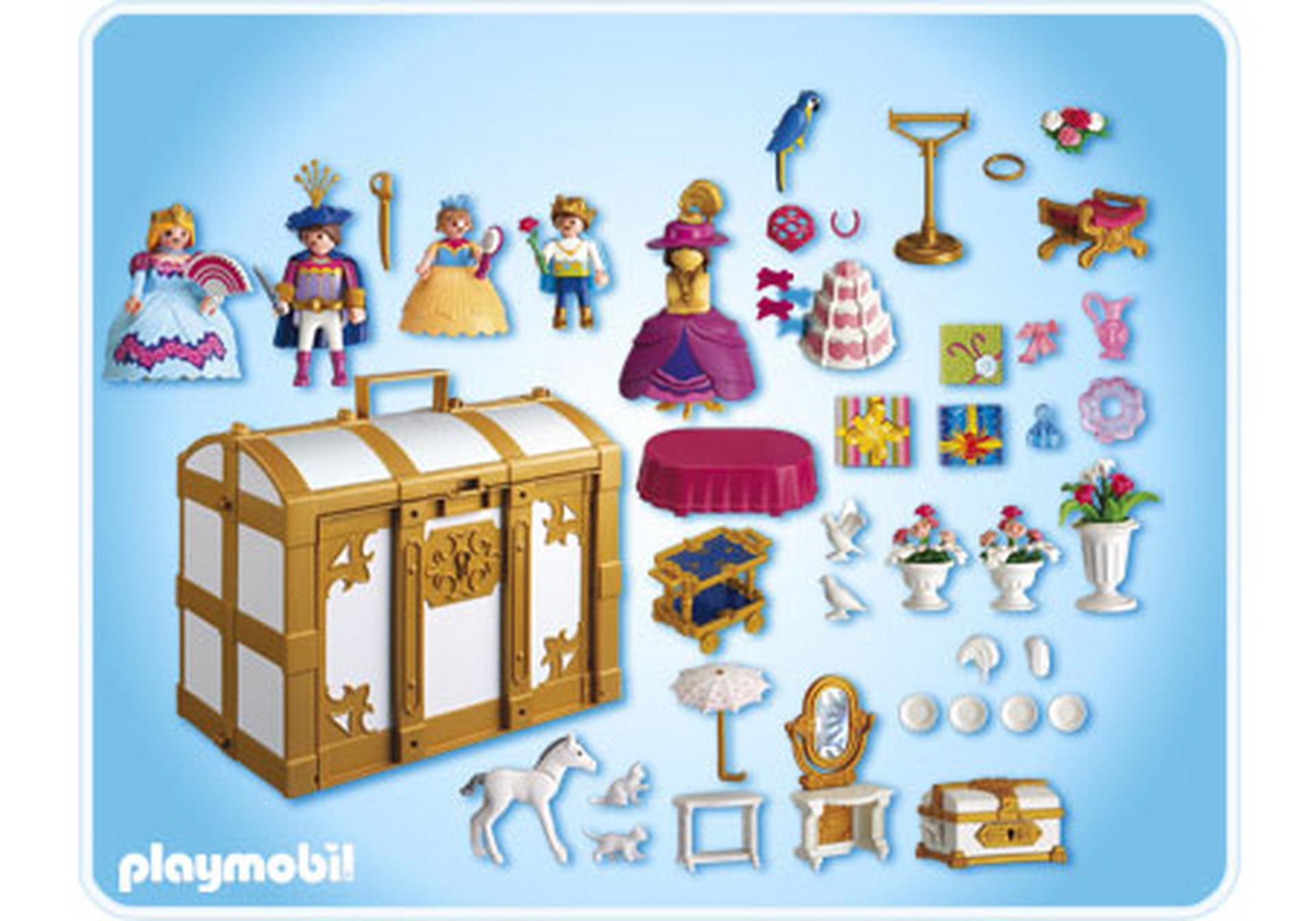 coffre de princesses transportable 4249 a playmobil. Black Bedroom Furniture Sets. Home Design Ideas
