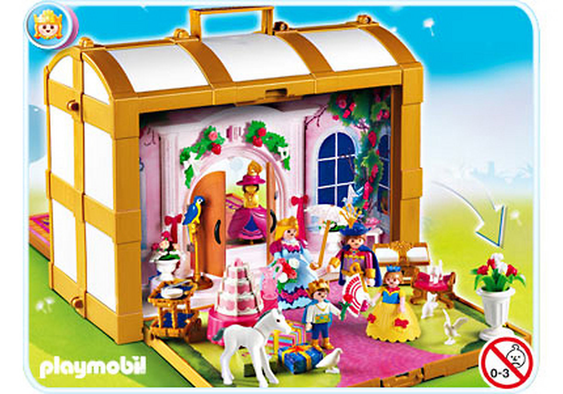 4249-A Coffre de princesses transportable zoom image1