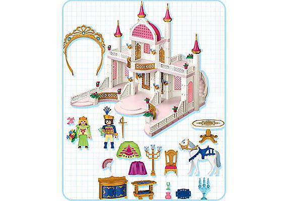 4250-A Märchenschloss mit Prinzessinnenkrone detail image 2