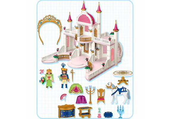 Ch teau de princesse 4250 a playmobil france - Playmobil princesse chateau ...