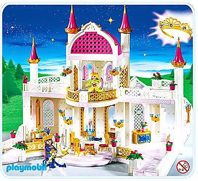 4250-A Märchenschloss mit Prinzessinnenkrone detail image 1
