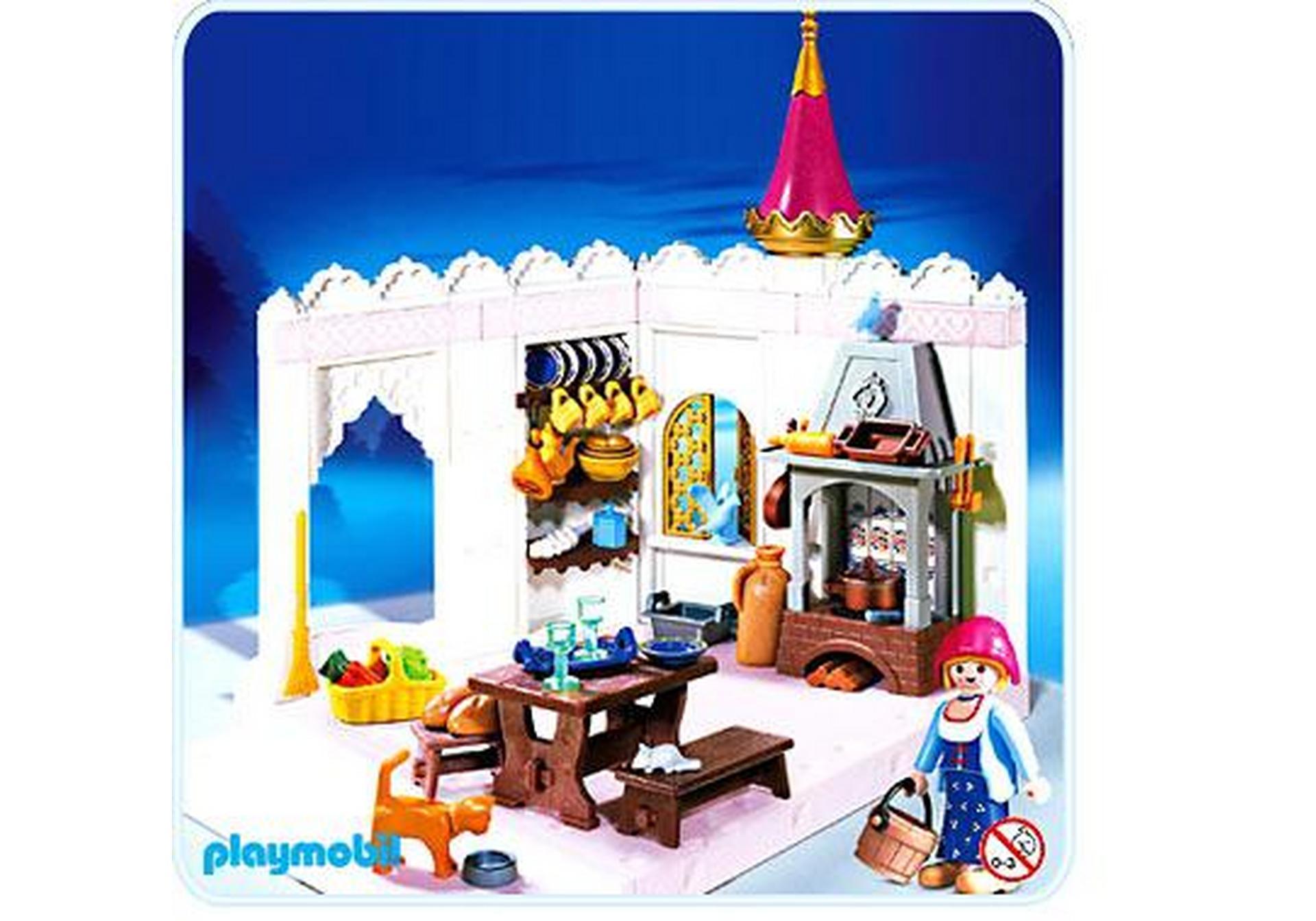 Cuisini re cuisine de princesse 4251 a playmobil france for Playmobil cuisine