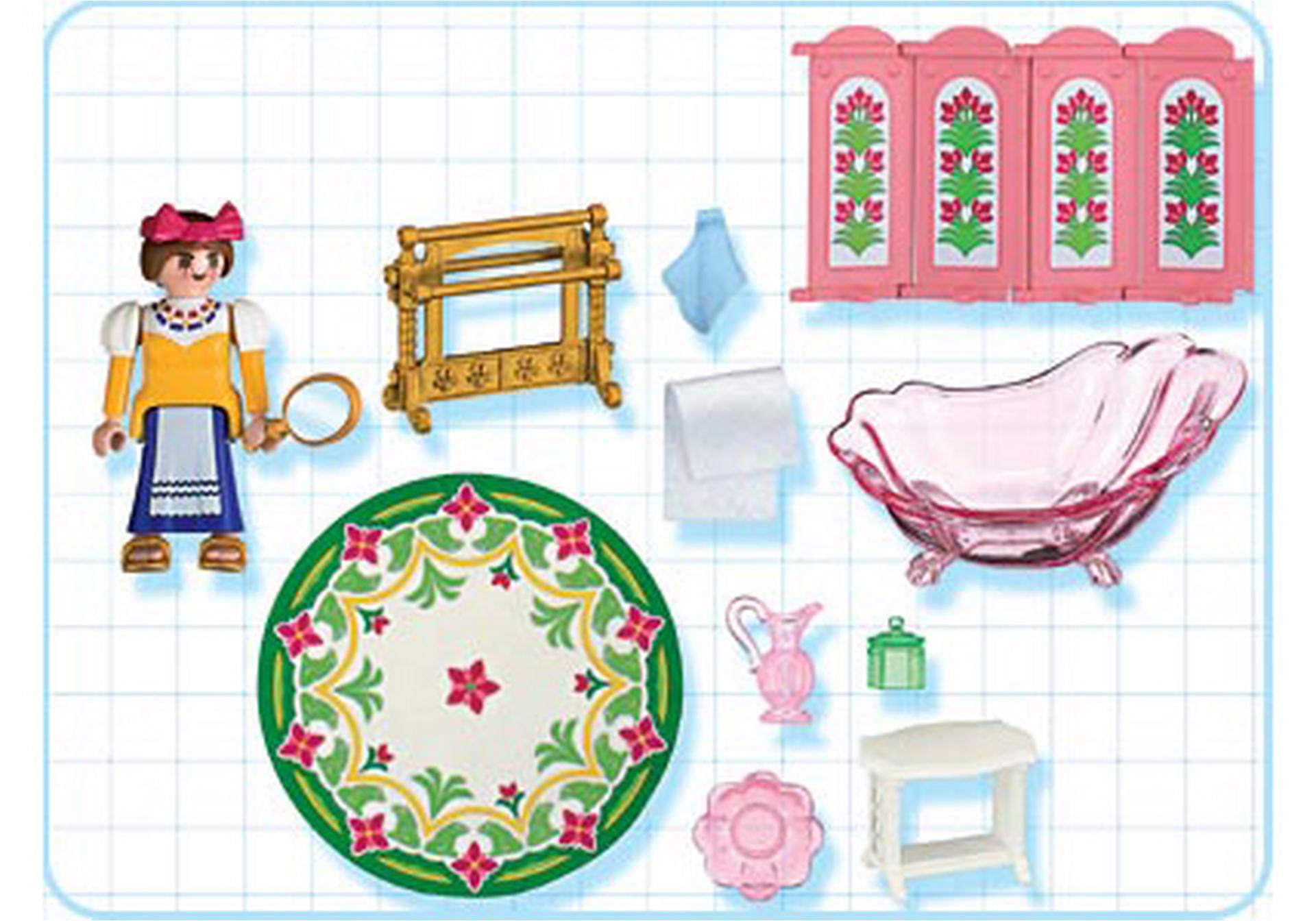 Servante salle de bains de princesse 4252 a for Prix salle de bain playmobil