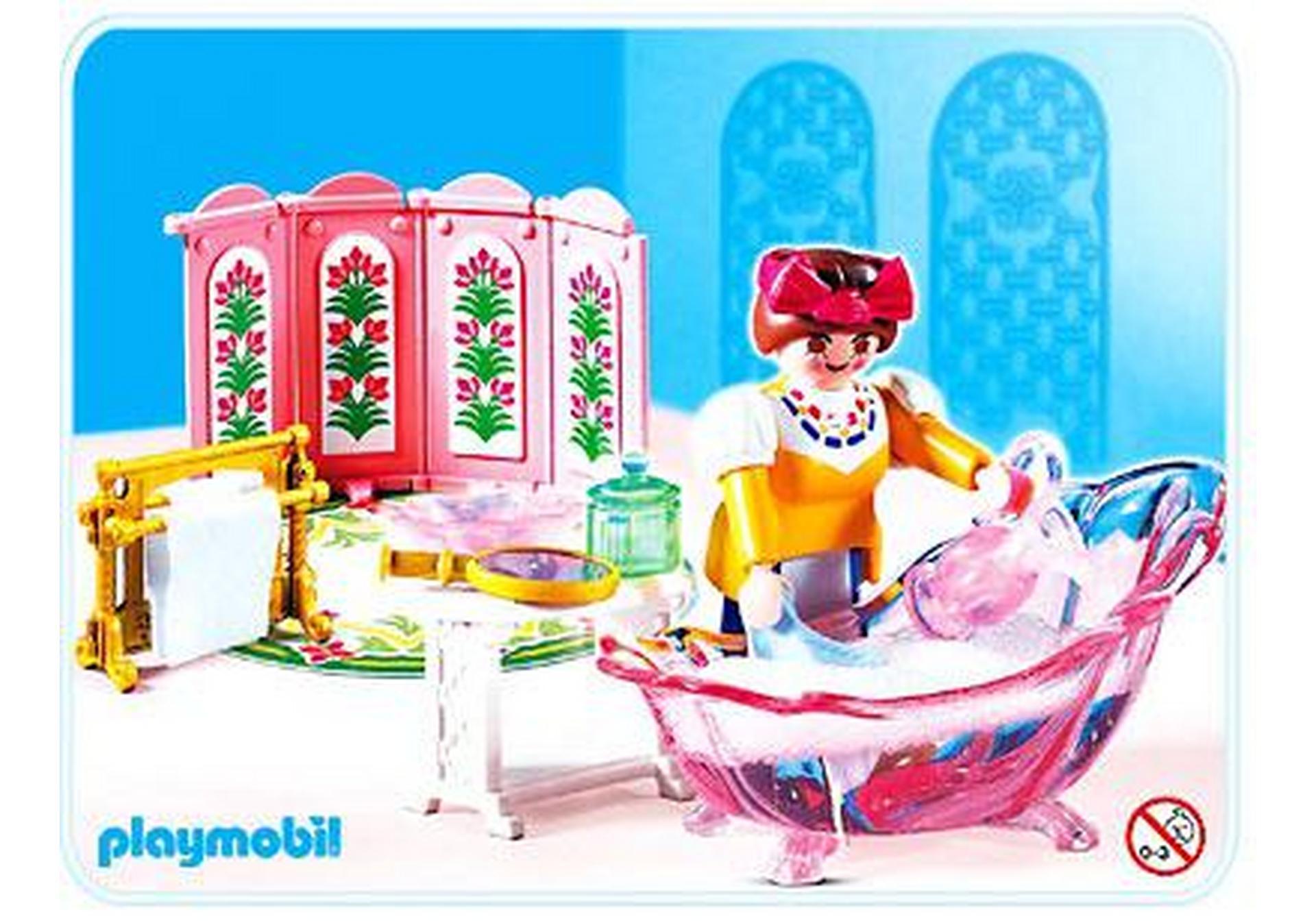 Servante salle de bains de princesse 4252 a for Salle bain playmobil