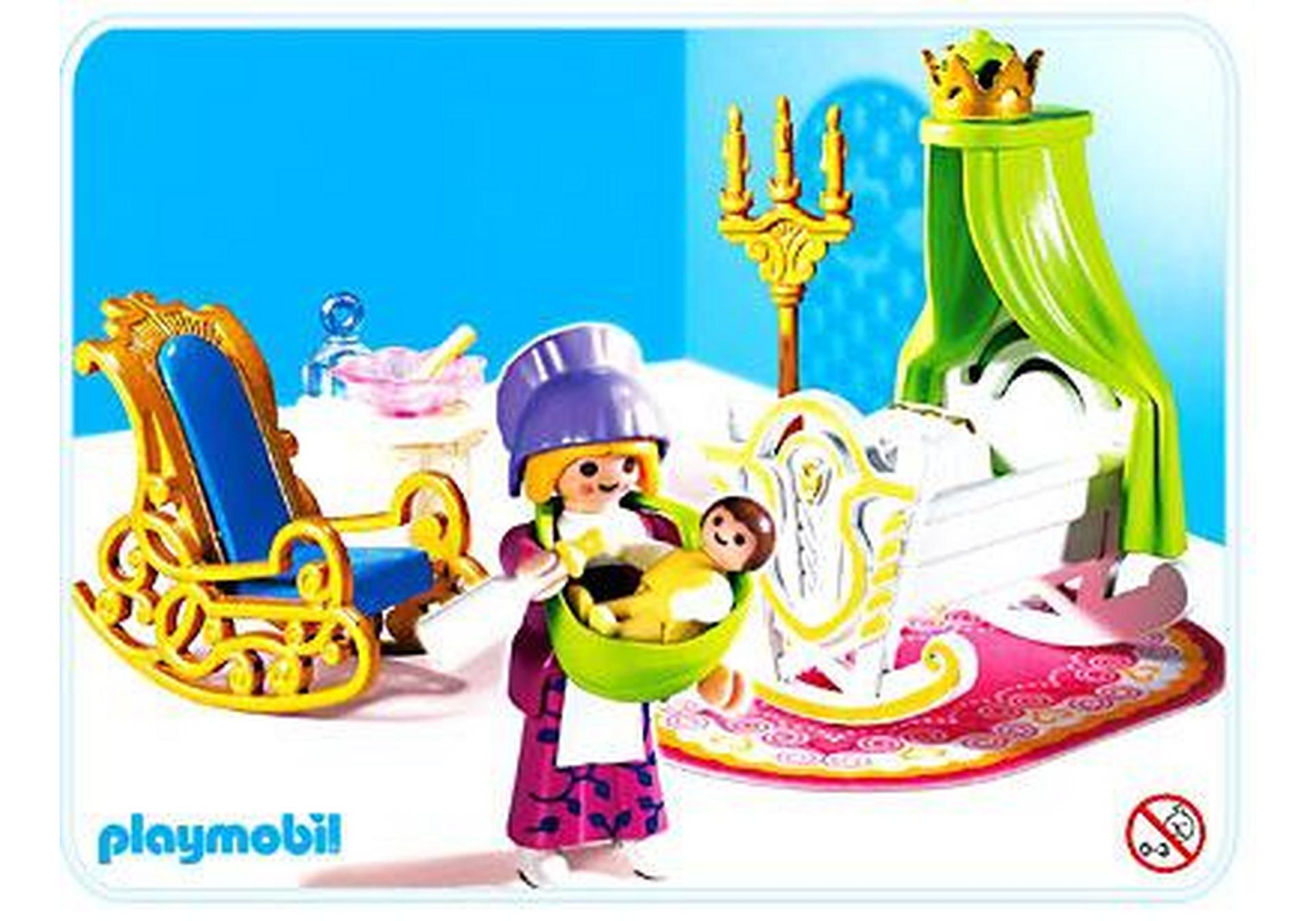 Nourrice chambre de b b 4254 a playmobil france for Playmobil chambre princesse