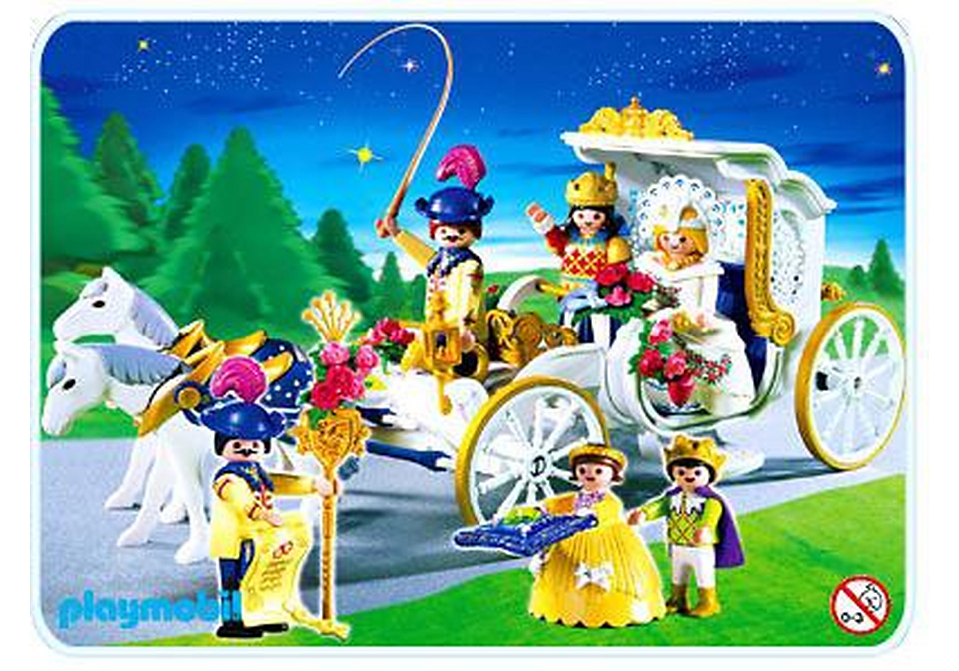 4258-A Königliche Hochzeitskutsche zoom image1