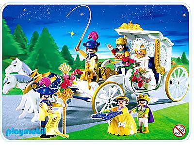 4258-A Königliche Hochzeitskutsche detail image 1