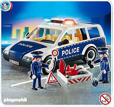 4260-A Voiture de police et patrouille detail image 1