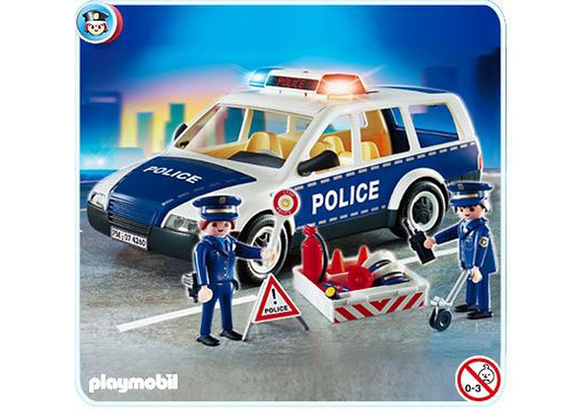 voiture de police et patrouille 4260 a playmobil france. Black Bedroom Furniture Sets. Home Design Ideas