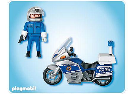 4261-A Motorradpolizist detail image 2