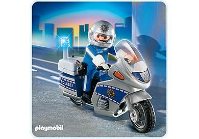 4261-A Motorradpolizist