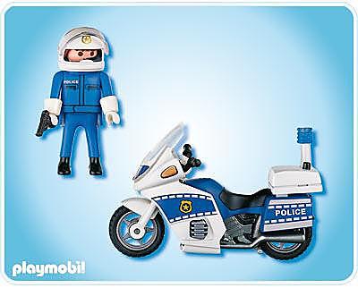 4262-A Motard de police detail image 2