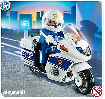 4262-A Motard de police detail image 1