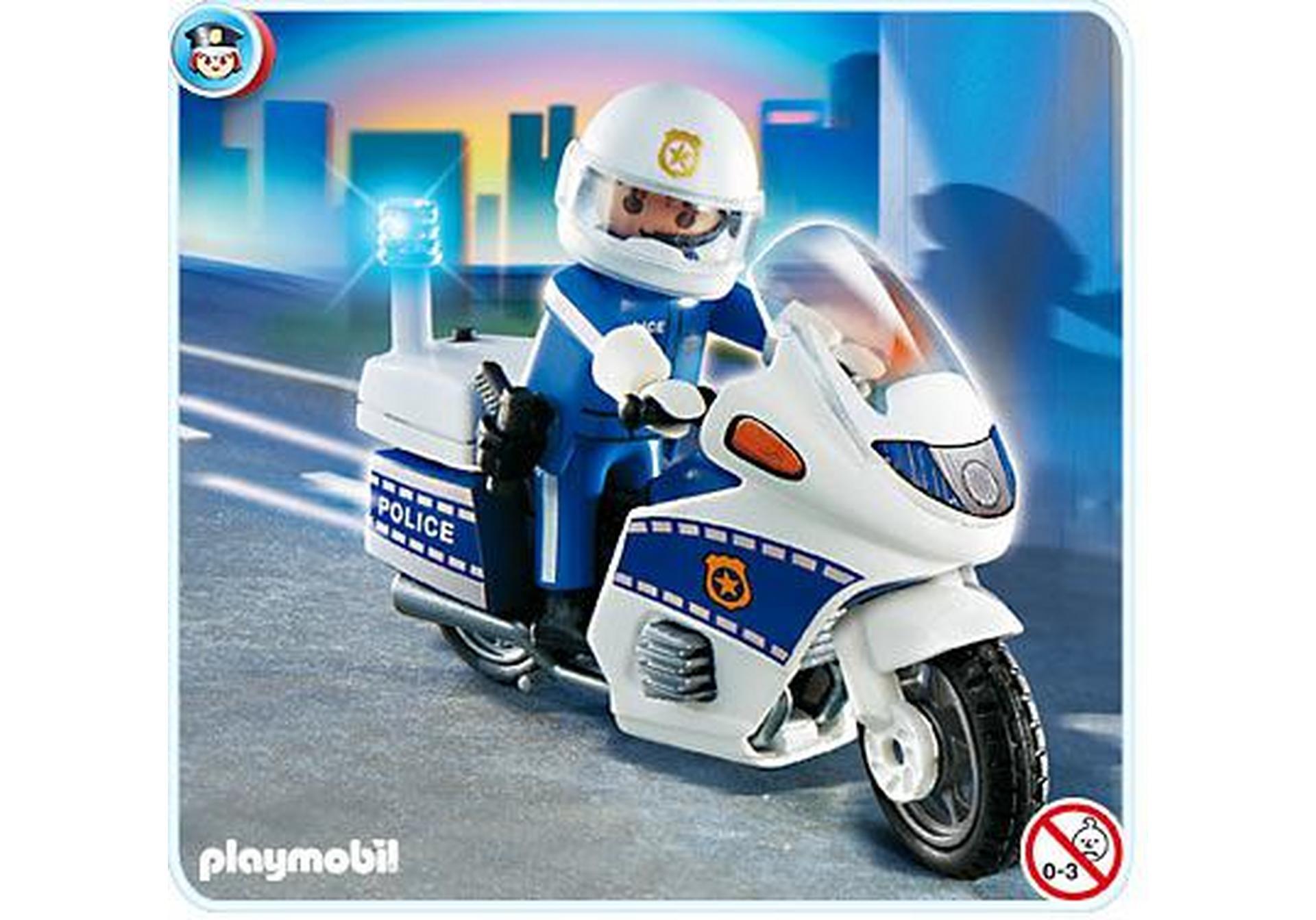 Motard de police 4262 a playmobil france - Jeux de motos de police ...