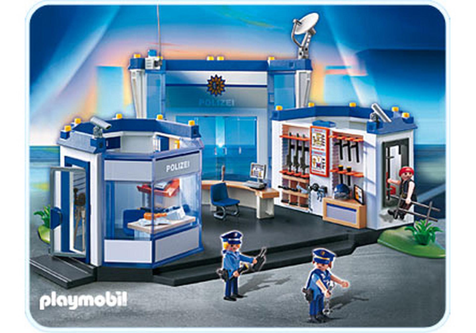 polizeihauptquartier  4263a  playmobil® deutschland