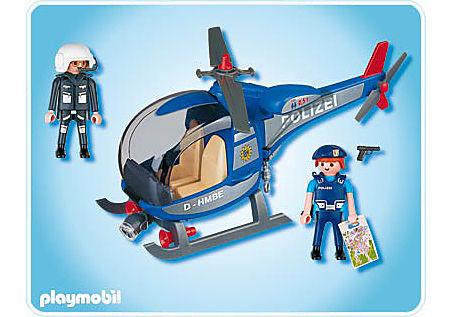 4266-A Polizeihubschrauber detail image 2