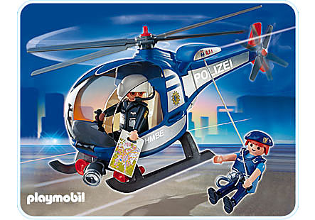 4266-A Polizeihubschrauber detail image 1