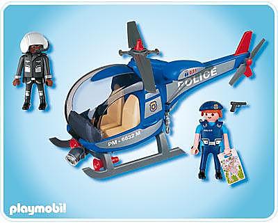 4267-A Hélicoptère de police detail image 2