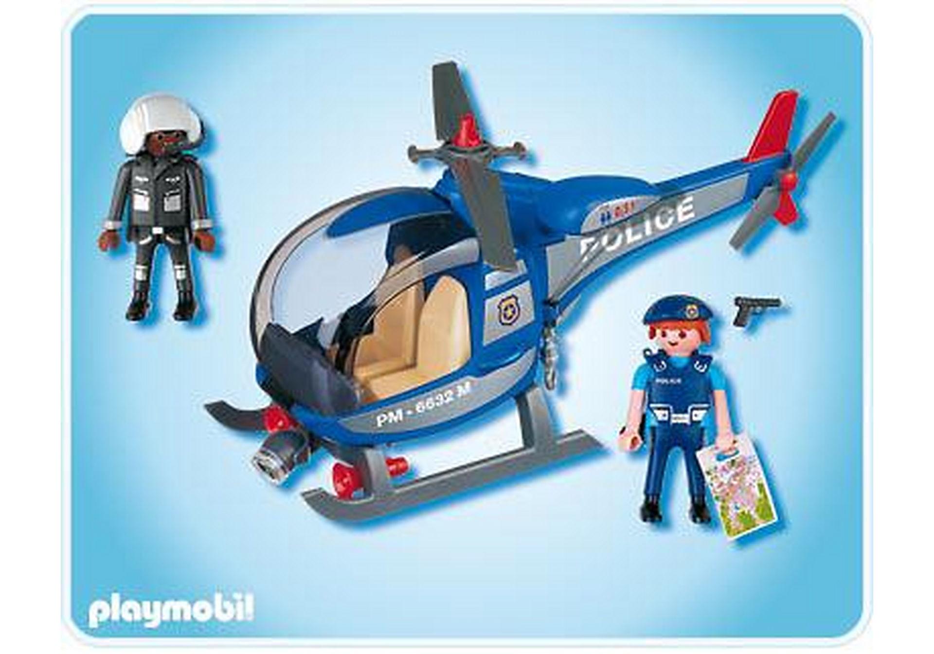 4267-A Hélicoptère de police zoom image2