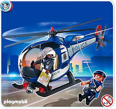 4267-A Hélicoptère de police detail image 1