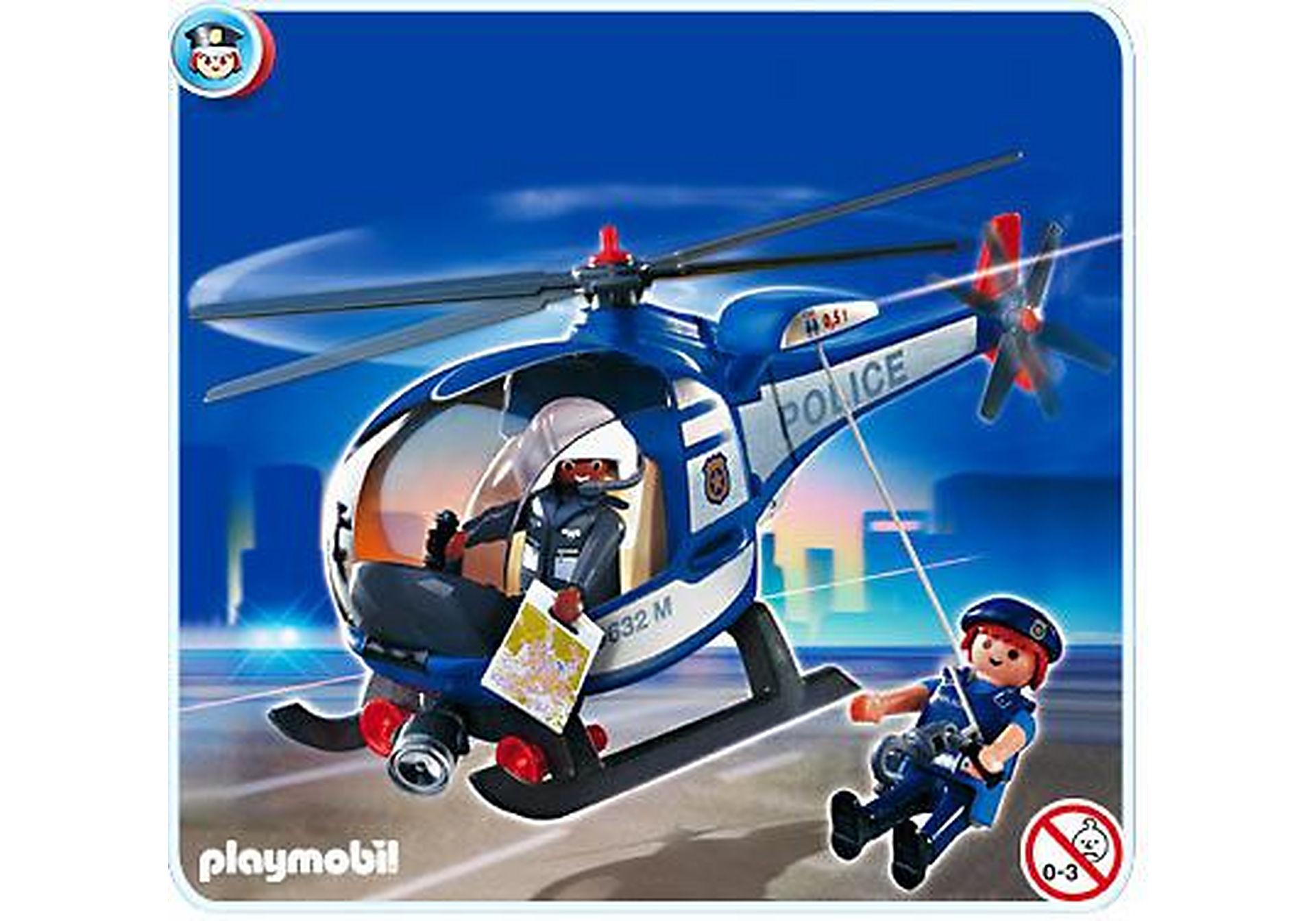 4267-A Hélicoptère de police zoom image1