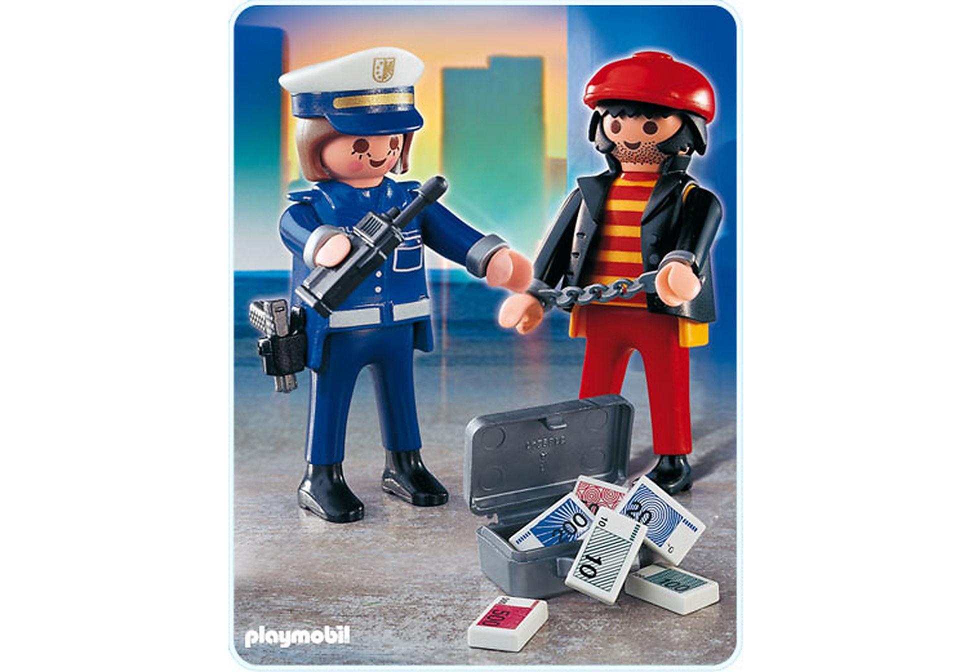 4269-A Voleur et policière zoom image1