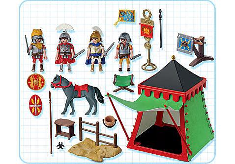 4273-A Römerlager mit Zelt detail image 2