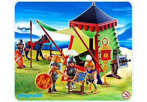 4273-A Römerlager mit Zelt detail image 1