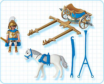 4274-A Cavalier romain / quadrige detail image 2