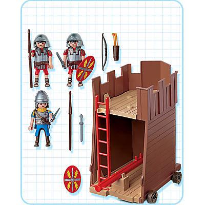 4275-A Soldats romains / tour d'assaut detail image 2