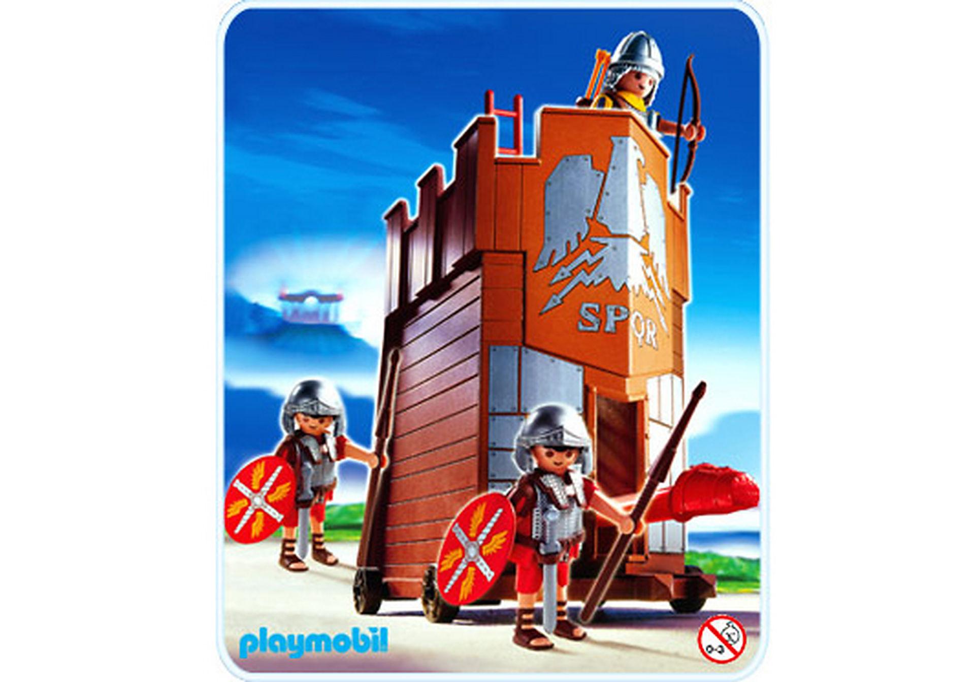 4275-A Soldats romains / tour d'assaut zoom image1