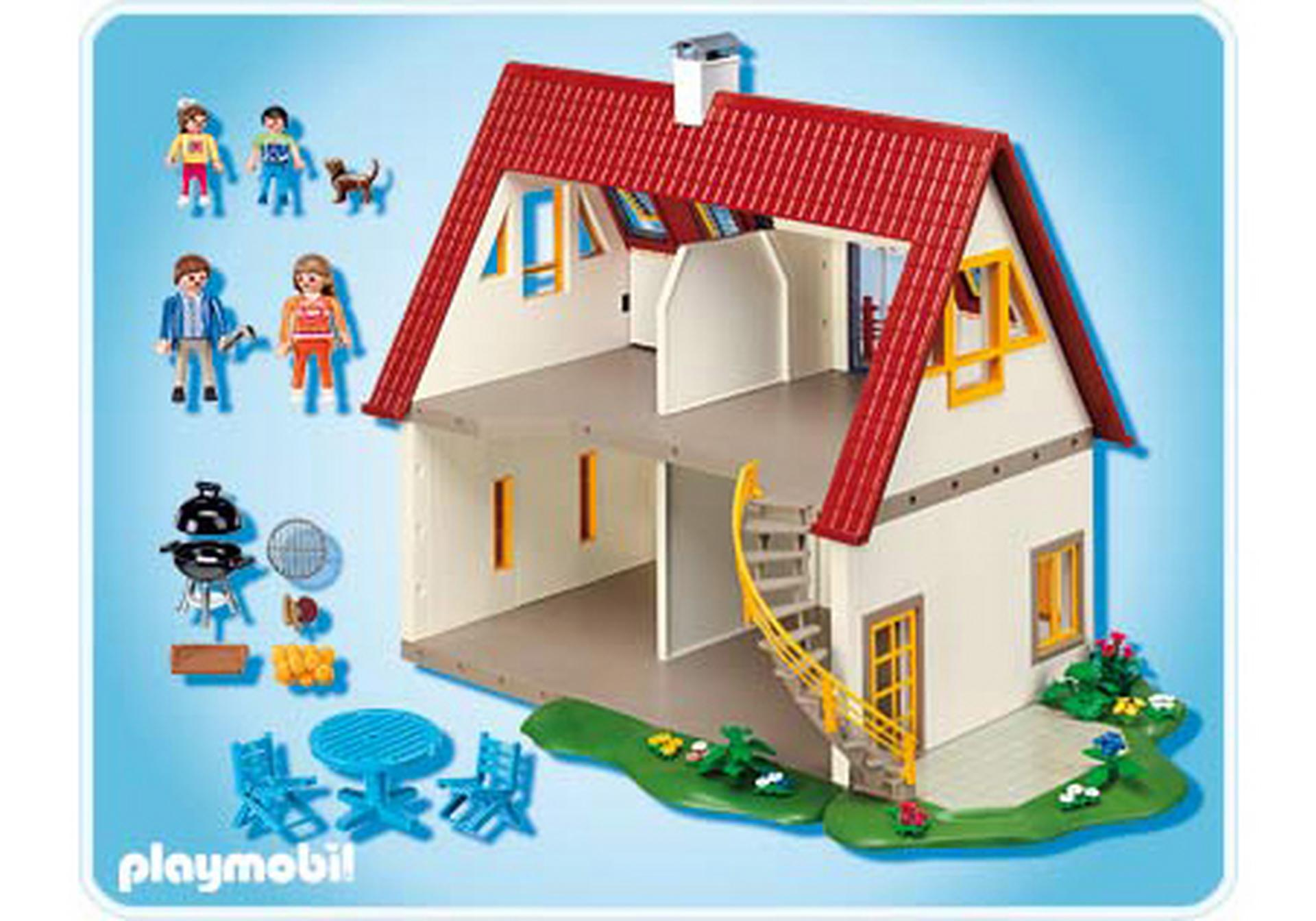 Villa moderne 4279 a playmobil france for Extension maison 4279