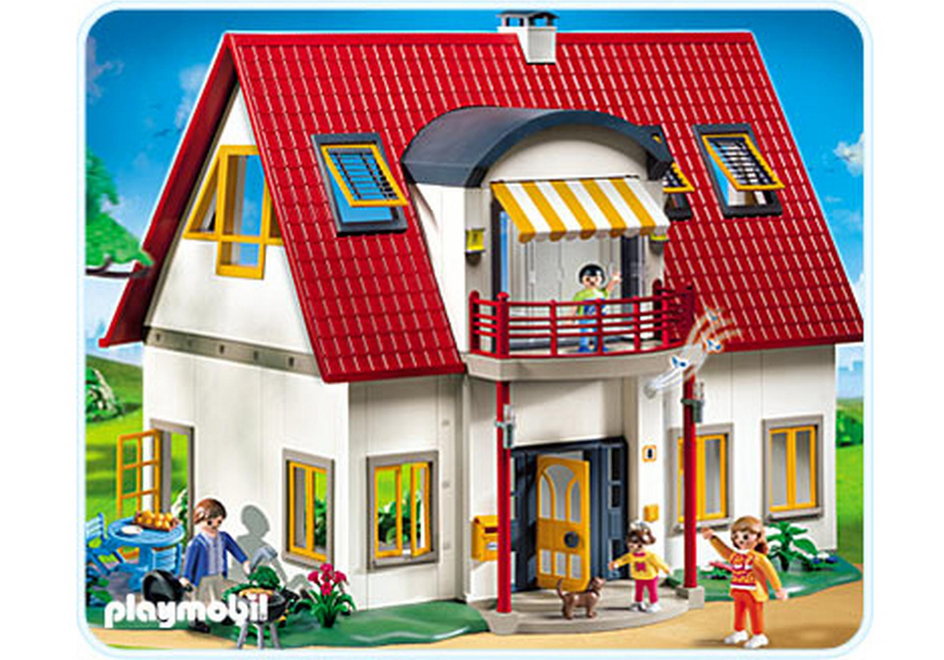 Suburban house 4279 a playmobil for Extension maison 4279