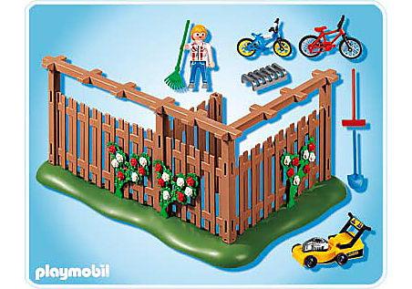 4280-A Abri pour vélos et outils de jardinage detail image 2