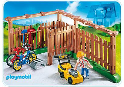 4280-A Abri pour vélos et outils de jardinage detail image 1