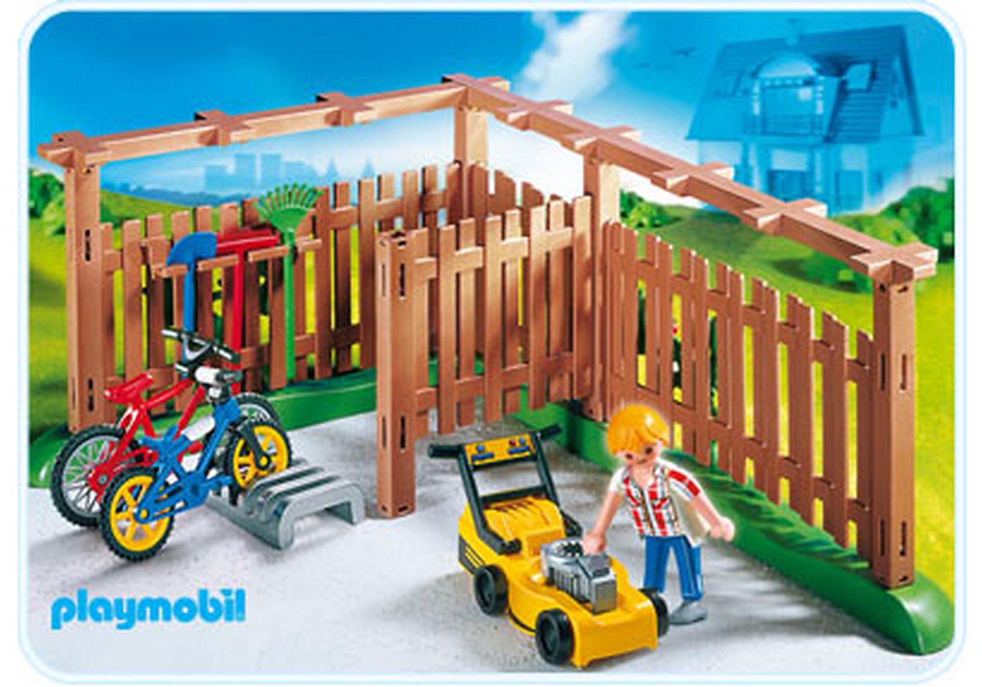 4280-A Abri pour vélos et outils de jardinage zoom image1