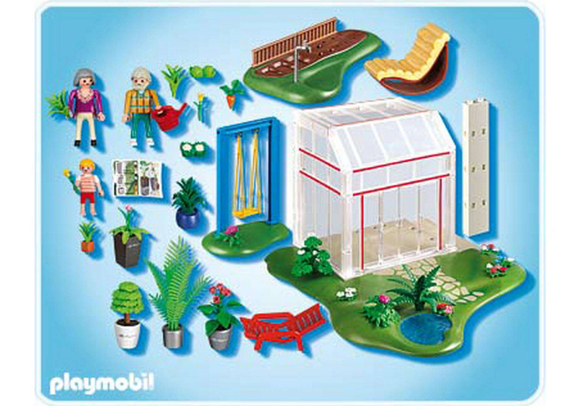 Wintergarten mit sonnenterrasse 4281 a playmobil for 4279 playmobil