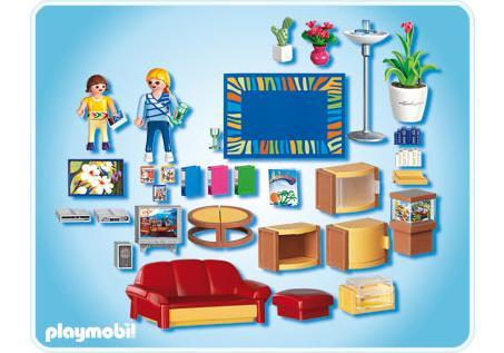 sonniges wohnzimmer - 4282-a - playmobil® deutschland