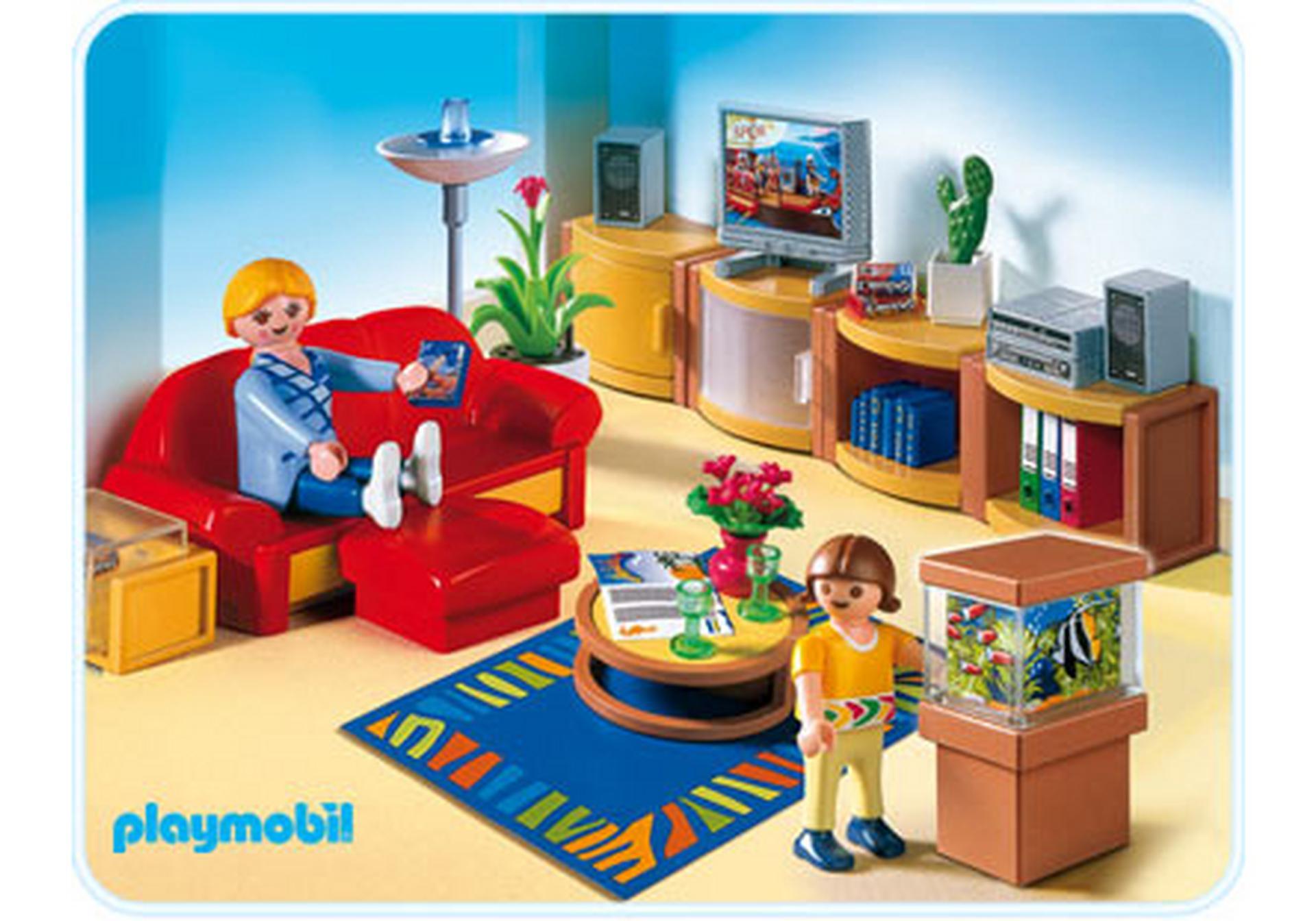 Salle de s jour 4282 a playmobil france for Salle de sejour playmobil