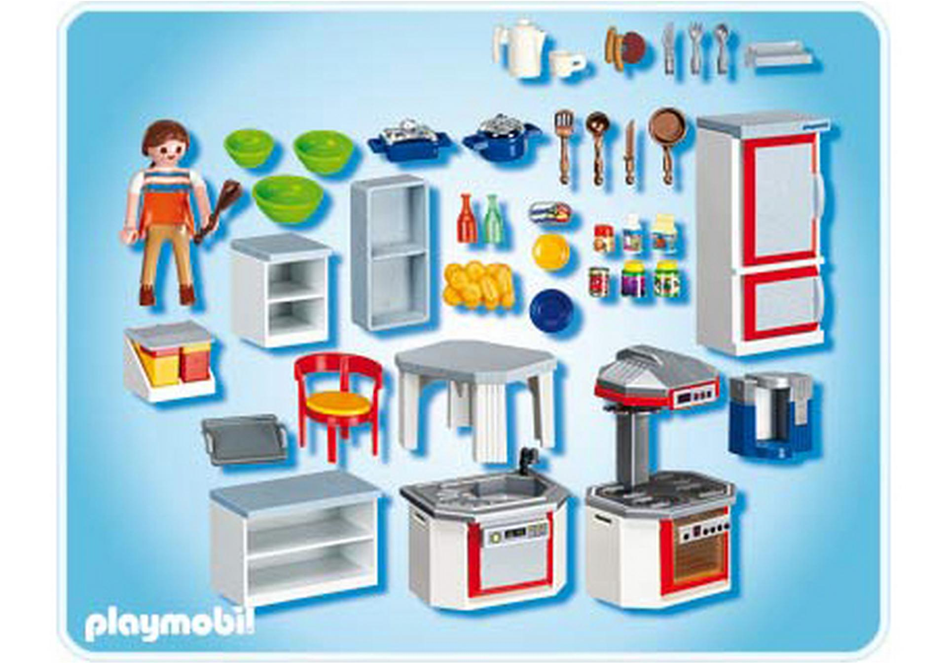 Cuisine quip e 4283 a playmobil france for Cuisine playmobil