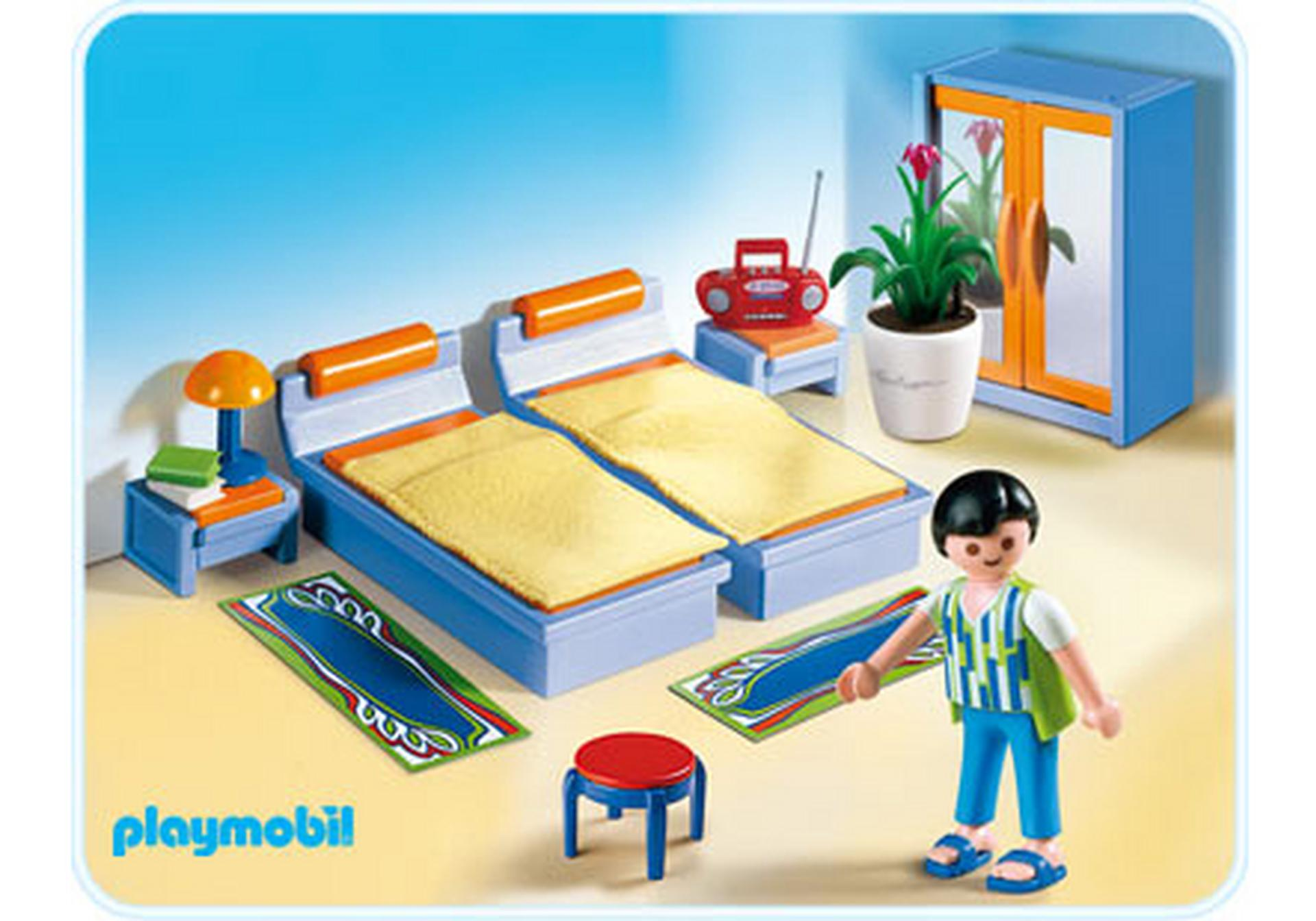 Chambre des parents 4284 a playmobil france - Chambre parents playmobil ...