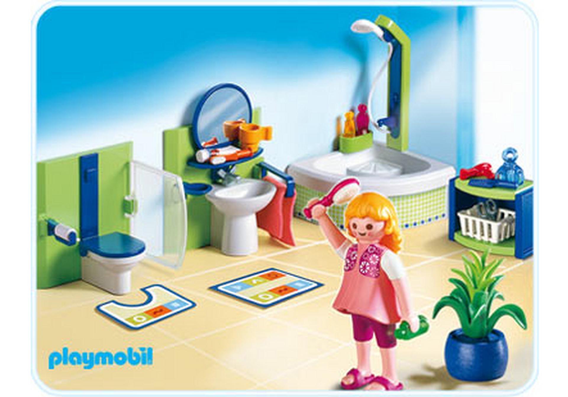 Salle de bains 4285 a playmobil france for Salle bain playmobil