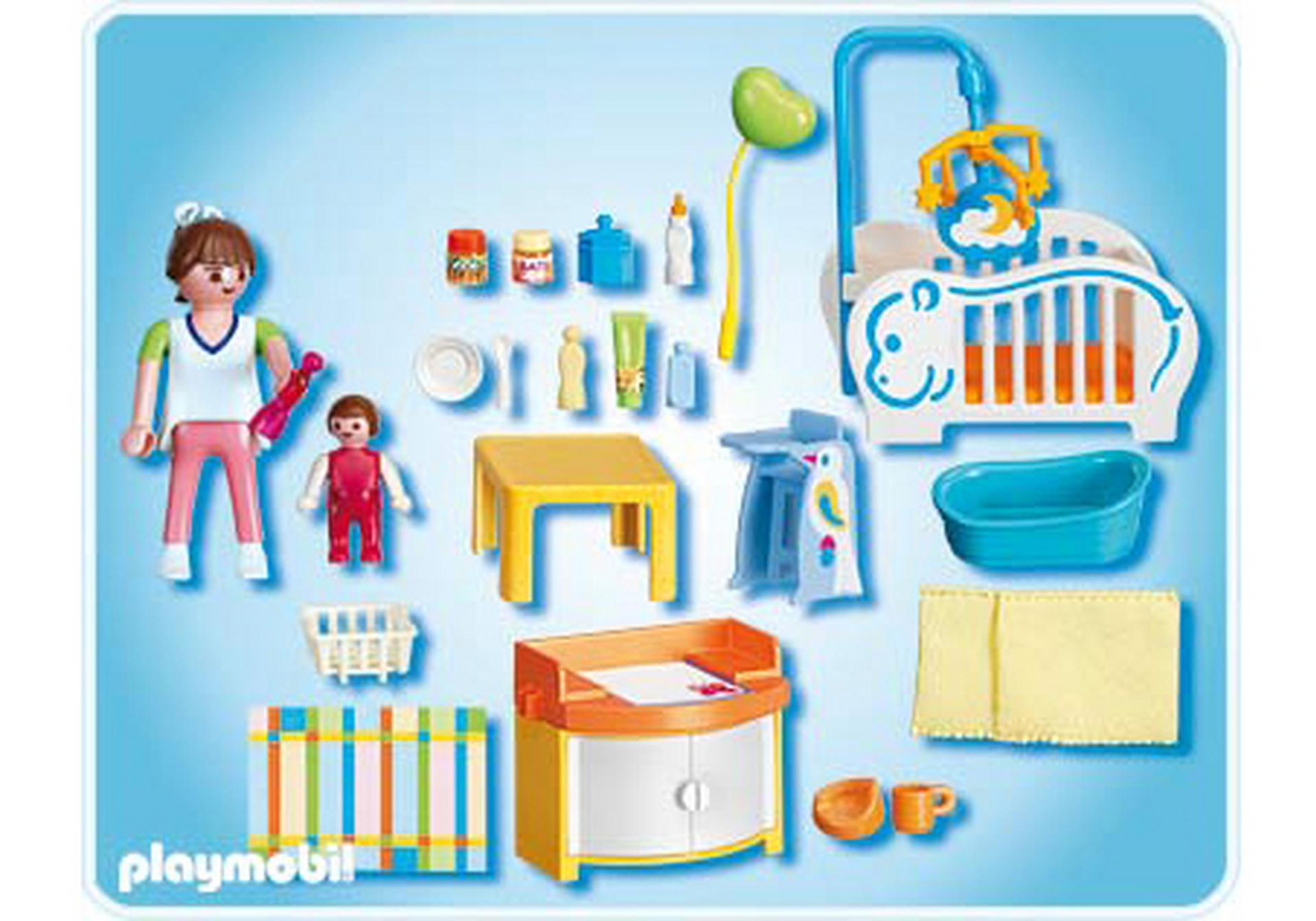 babyzimmer 4286 a playmobil deutschland. Black Bedroom Furniture Sets. Home Design Ideas