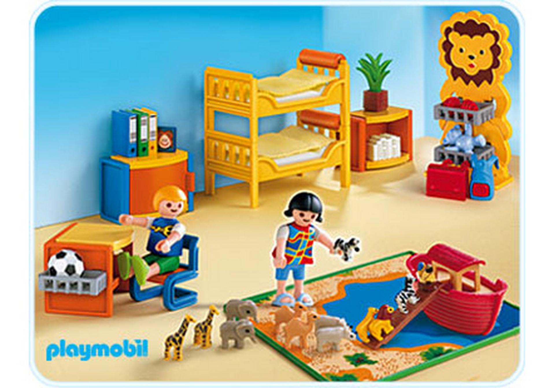 Chambre des enfants 4287 a playmobil france for Playmobil kinderzimmer 4287