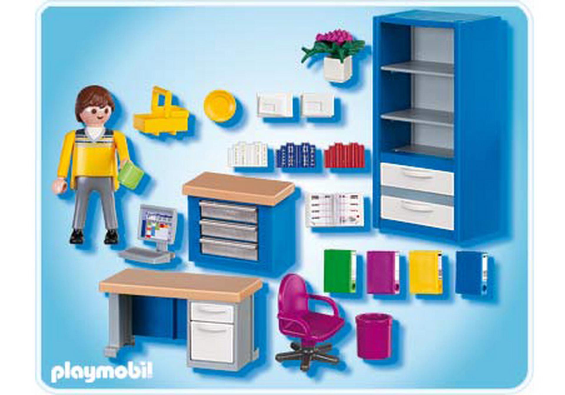 Bureau 4289 a playmobil france for Playmobil buanderie