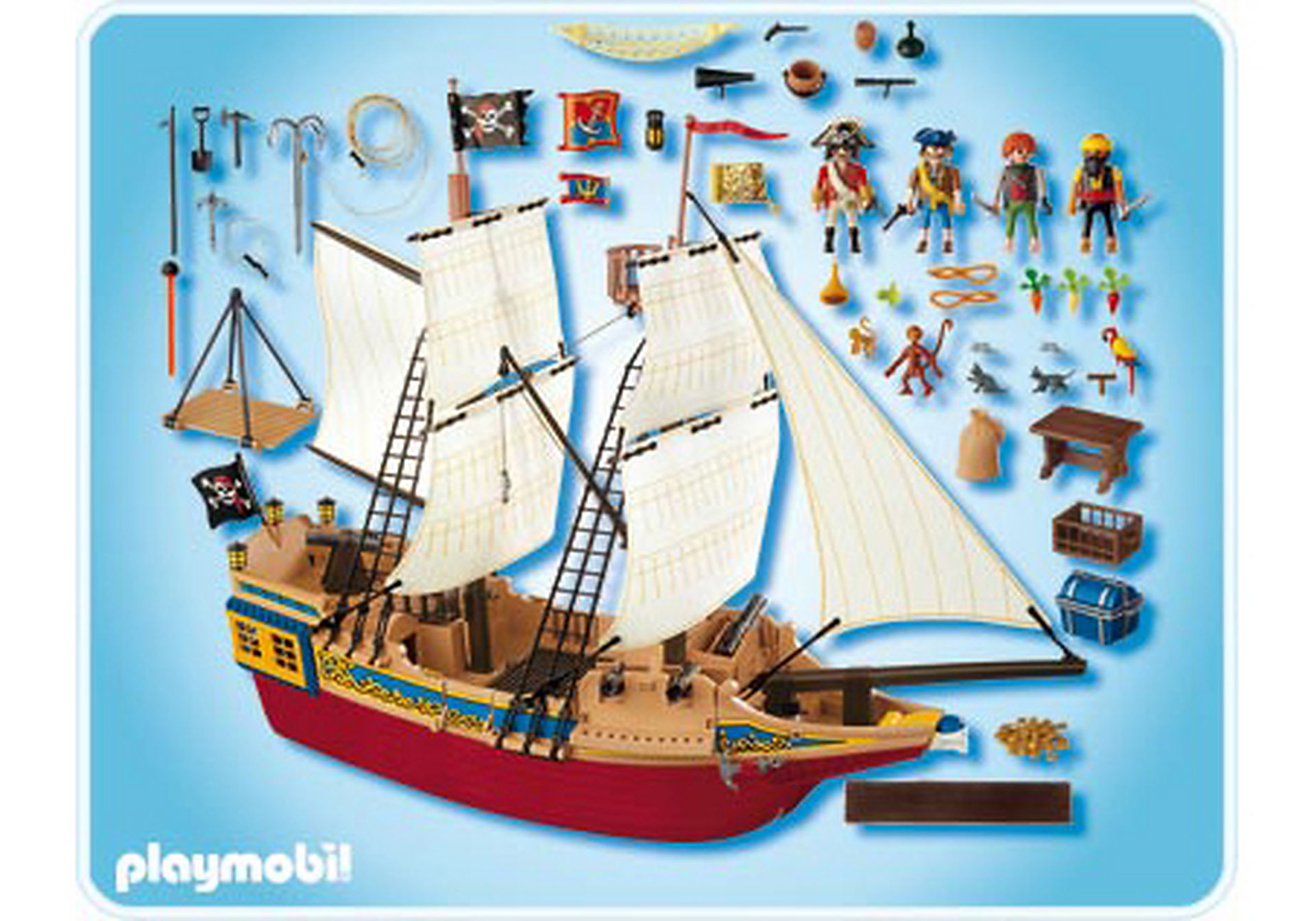 4290-A Großes Piraten-Tarnschiff zoom image2