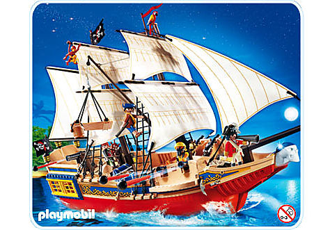 4290-A Großes Piraten-Tarnschiff detail image 1