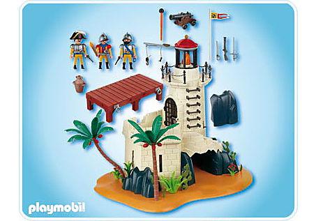 4294-A Soldatenbastion mit Leuchtturm detail image 2