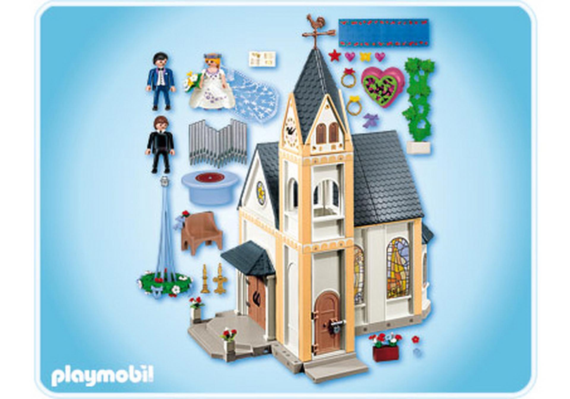kirche 4296 a playmobil deutschland. Black Bedroom Furniture Sets. Home Design Ideas