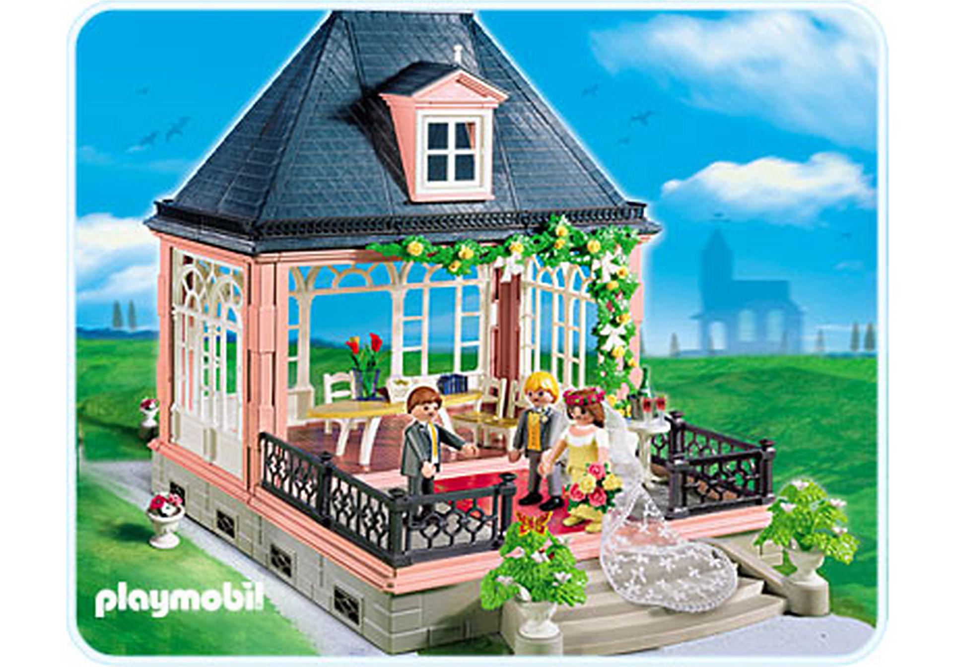 4297-A Hochzeitspavillon mit Schmuckkästchen zoom image1